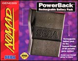 Sega Nomad PowerBack: Rechargeable Battery Pack by Sega