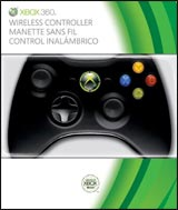 Xbox 360 Wireless Controller Black Microsoft