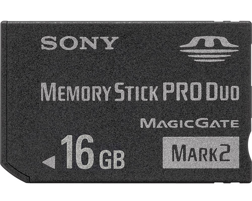 PSP 16GB Memory Stick Pro Duo by Sony