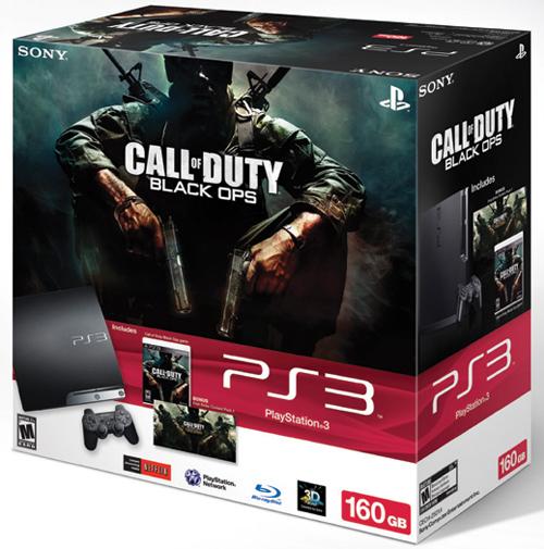 Sony PlayStation 3 Slim Black Ops 160GB