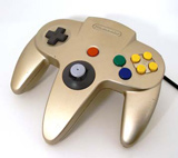 N64 Controller by Nintendo (Gold)
