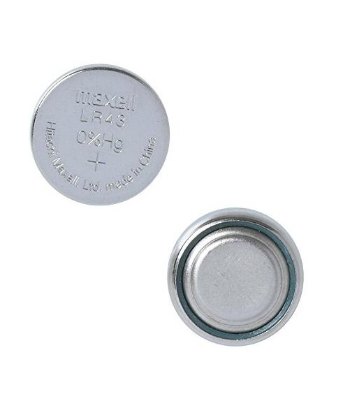 LR43 1.5 Volt Battery 2 Pack