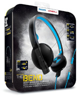 Philips O'Neill The Bend Deep Bass Headband Headphones