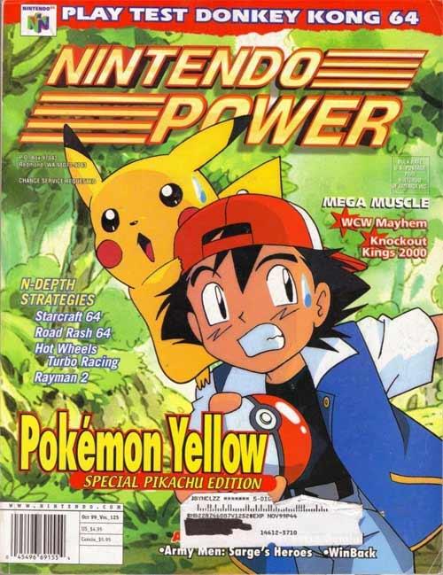 Nintendo Power Volume 125 Pokemon Yellow