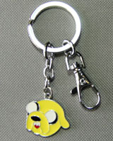Adventure Time Jake Head Keychain