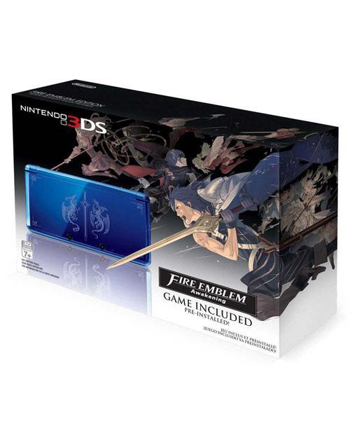 Nintendo 3DS System Aqua Blue Fire Emblem Awakening
