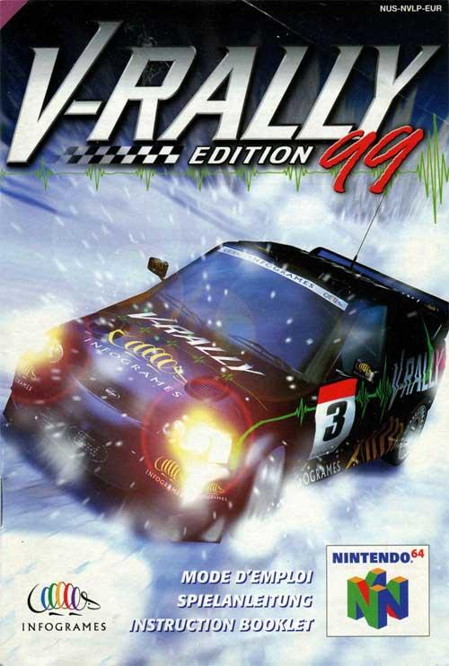 V Rally '99 (Instruction Manual)