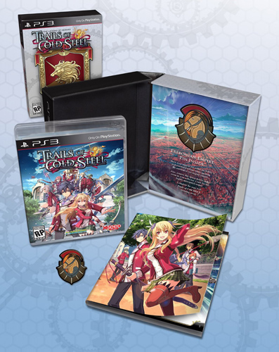 The Legend of Heroes: Trails of Cold Steel Lionheart Edition