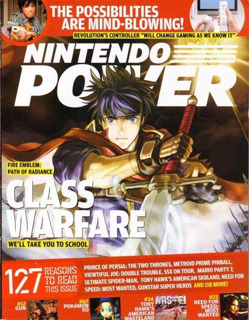 Nintendo Power Volume 198 Fire Emblem: Path of Radiance