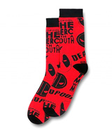 Marvel Deadpool All-over Print Crew Socks