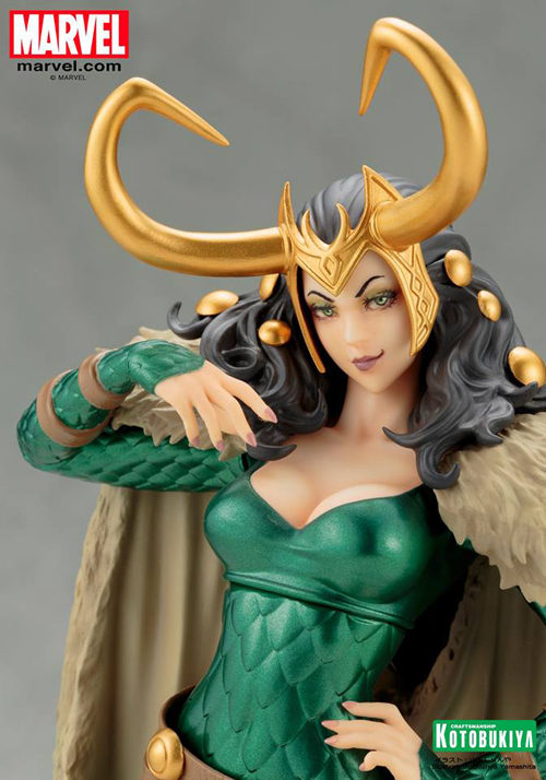 Marvel Lady Loki Bishoujo Statue 1