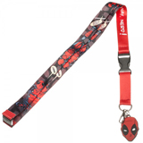 Marvel Deadpool Lanyard With Charm