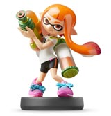 amiibo Inkling Girl Super Smash Bros.