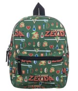 Legend of Zelda 8-Bit Sublimated Print Mini Backpack