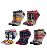 DC Comics Wonder Woman Ankle Socks 5 Pack