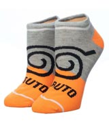 Naruto Shippuden Colorblock Ankle Socks 5 Pack