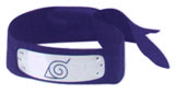 Naruto Metal Headband Blue