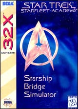 Star Trek: Starfleet Academy / 32X
