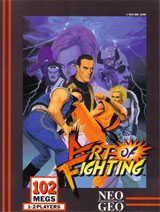Art of Fighting Neo Geo AES