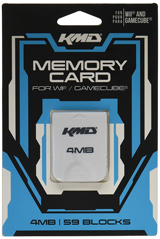 GameCube 4 MB Memory Card