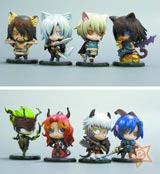 Lamento: Beyond the Void One Coin Trading Figures (10 Figures)