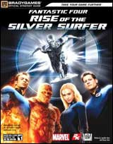 Fantastic Four Rise of the Silver Surfer Official Strategy Guide Book