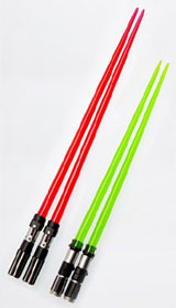 Star Wars Lightsaber Chopsticks (Yoda & Darth Vader)