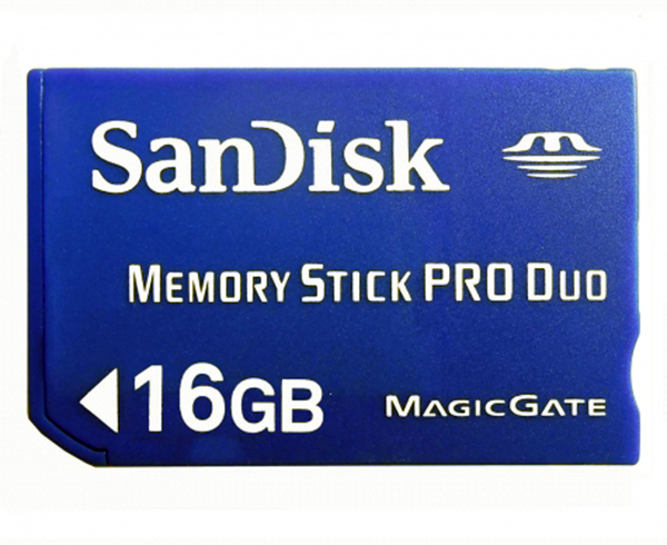 PSP 16GB Memory Stick Pro Duo