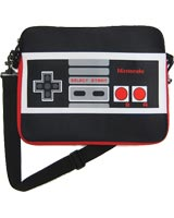 Nintendo Controller Black Messenger Bag