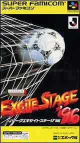 J. League Excite Stage '96 Soccer