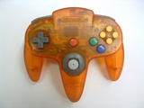 N64 Controller Nintendo Fire Orange