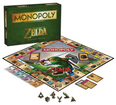 Legend of Zelda Monopoly Contents