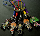 Final Fantasy Dissidia: 5 Phone Charms Set