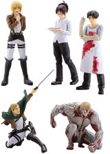 Attack on Titan Series 4 Capsule Toys