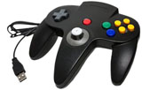 PC/Mac N64 CirKa Black USB Controller