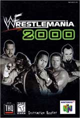 WWF WrestleMania 2000 (Instruction Manual)