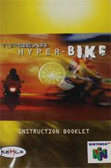 Top Gear Hyper-Bike (Instruction Manual)
