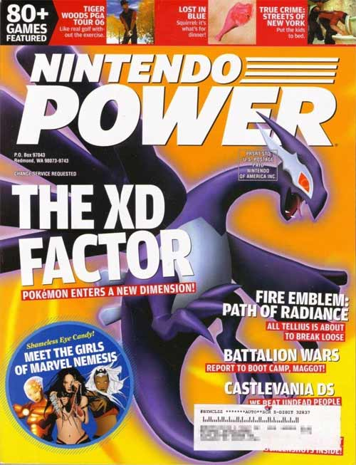 Nintendo Power Volume 197 Pokemon XD