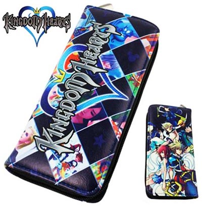 Kingdom Hearts Zip Around Wallet