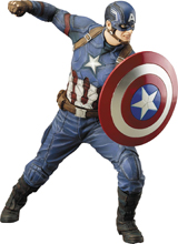 Captain America Civil War: Captain America 1/10 Scale Statue
