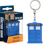 Pocket Pop Doctor Who Tardis Vinyl Keychain
