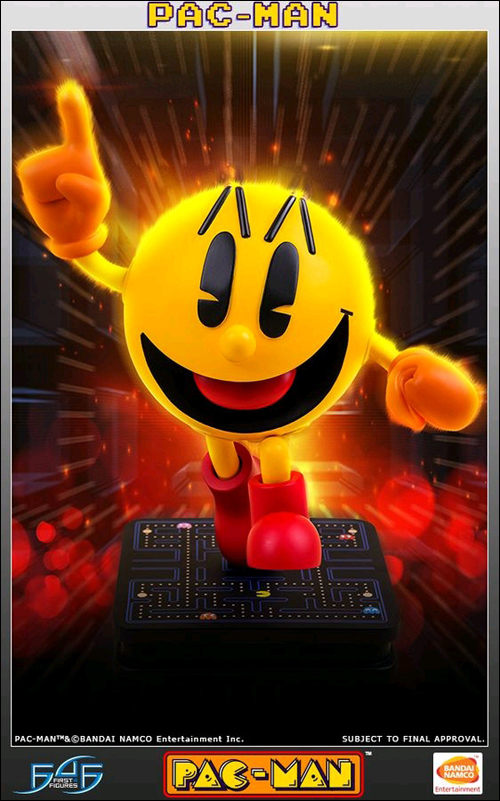 Pac-Man 17 Inch Statue