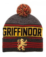 Harry Potter Gryffindor Pom Rolled Knit Beanie