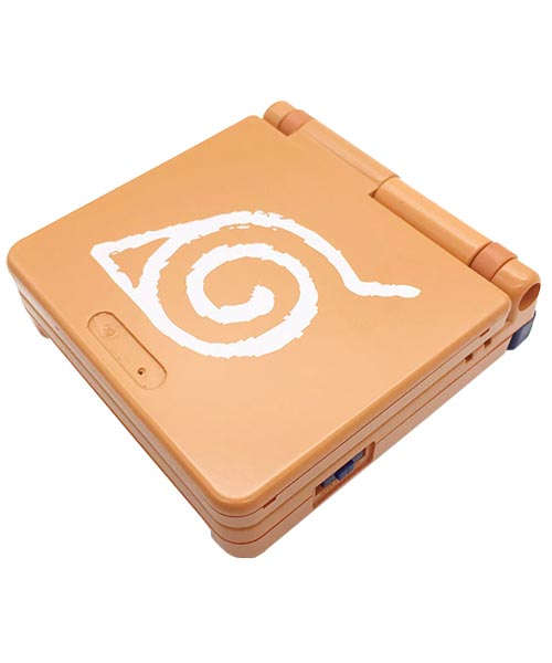 Game Boy Advance SP Housing Shell Replacement Service Naruto Orange