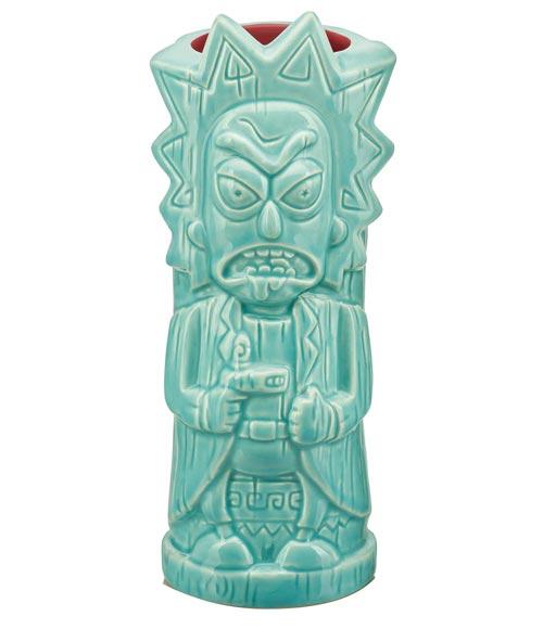 Rick & Morty: Rick Sanchez Ceramic Tiki Mug