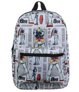 Mobile Suit Gundam RX-78 Sublimated Backpack