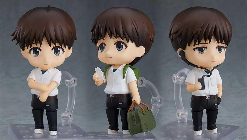 Evangelion Shinji Nendoroid extra poses