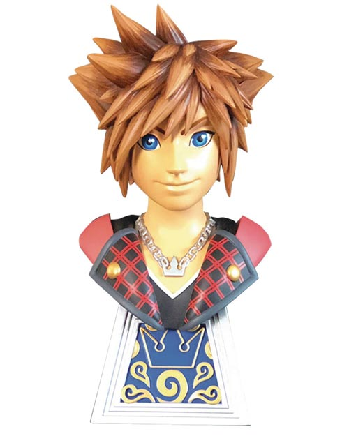 Kingdom Hearts III Legends in 3-Dimensions Sora 1/2 Scale Bust