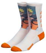 Naruto Shippuden Sublimated Graphic Crew Socks