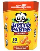 Hello Panda Caramel Cream Filled Biscuits 9.1oz